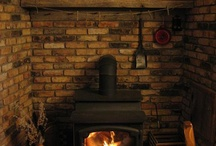 Wood stoves hearth