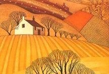 Landscape / The world around us; inspiration to stitch