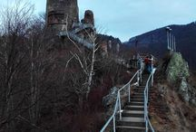 Poenari Fortress, Arges County, Romania