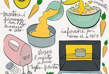 Palati Fini / illustrated recipes