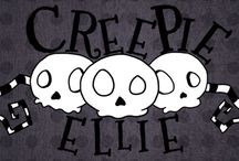 Creepie Ellie / A web comic based on a normal girl with some unusual tastes. Starts October 2nd
