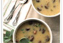Sopas - soups / sopas, cremas y demás parientes
