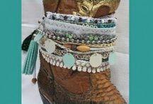 Bootbelts / Leuke riemen die je om je laarzen kan dragen