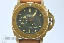 BIGMOON Panerai Watches / A board of our newest arrivals of pre-owned Panerai watches.