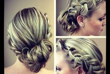 Hair ups / Beautiful creations for weddings or special occasions, very pretty <3
