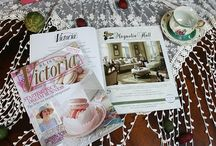 VICTORIA MAGAZINE / This board is dedicated to the ad Magnolia Hall has run over the years in Victoria Magazine.