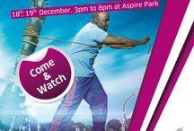 Qatar Strongest Man 2014 Aspire Zone / Qatar Strongest Man championship 2014 in Aspire zone foundation .