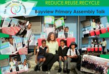 The Schools Recycling Project / The education of our youth lies at the heart of preserving the planet and creating environmental awareness, therefore we aim to empower kids with the knowledge and principles of recycling. The Schools Project was initiated in 2009 as part of our Company's social responsibility campaign and has since signed up 145 schools in the Nelson Mandela Bay Metro.
