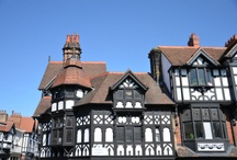 Chester, England / Collection highlighting some of #Chester 's retail, business and leisure attractions. A city steeped in history juxtaposed with modern shopping, dining and enterntainment experiences. #lovechester #CH1BID
