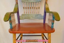 ...Old Furniture with New Look! / by Karrieann