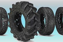 Tire Art / --Tire recycling or rubber recycling is the process of recycling vehicles' tires (or tyres) that are no longer suitable for use on vehicles due to wear or irreparable damage (such as punctures)