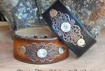 leather cuffs made in Italy