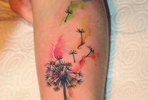 tatoo watercolor