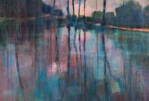 Mes peintures / ce tableau rassemble tout mon travail de peintre