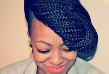 box braids & hairstyles  / by Tayana Jacques