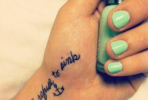 Tattoos  / by Hannah Kimery