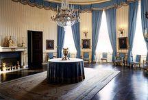 Det blå rummet.