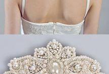 peignes, accessoires de tête, mariage