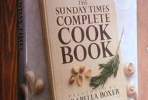 My Favourite Cookery Books / A collection of some tried and tested cookery books. I've just realised there is an awful lot of Delia Smith and Sophie Grigson (oh well it's just that their recipes always work!).