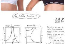 patrones ropa interior