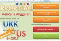 Aplikasi Proposal Penghitungan Biaya Anggaran Pelaksanaan Kegiatan UKK dan US