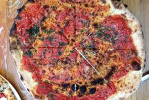 Pizza! / The masterpieces of Chef Tom Giudice. He learned the craft of Pizza making in a little place near Naples where he worked after he graduated the Culinary Institute of America and his pies are like BEING in Italy!