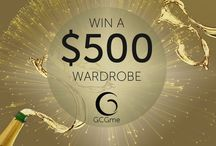 Win a $500 Wardrobe / Take your chance and sign up for GCGme's first ever $500 wardrobe contest! Get started on: www.gcgme.com/win-500-usd-gcgme