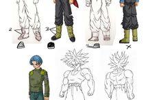 Dragon ball super future trunks adult
