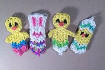 Rainbow loom designs / by Sandy Centnarowicz