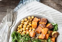 Vegan Bowls / Vegan buddha bowl recipes - dairy-free, meatless and delicious.