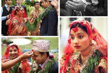 Nepali Wedding / Nepali wedding photo inspiration.