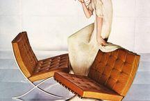 Barcelona Möbel von Mies van der Rohe - Einrichtungsideen / Barcelona Sitzmöbel von moDecor:  www.modecor.de/Barcelona-Sitzmoebel