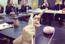 Πλέξιμο με βελόνες ή βελονάκι / Μαθήματα πλεκτικής στον Νότιο από έμπειρες και μεταδοτικές δασκάλες.