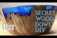 Secret Wood Bowl DIY