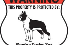 Boston Terrier Signs and Pictures / Warning and Caution Boston Terrier Signs. https://www.signswithanattitude.com/boston-terrier-signs.html