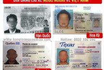 Đổi bằng lái xe Hàn Quốc sang Việt Nam