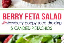 Salads / Great recipes for new salad combos and dressings