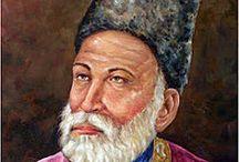 Mirza Ghalib Saab / Courtesy the last name we share have always been asked entertain everyone with shero-shayari