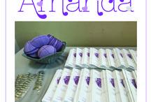 Silver and Purple Bat Mitzvah