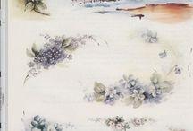 Pintura em porcelana-estudos