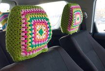 Crochet for my car / by Roxane Hackl Abel