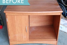 Furniture makeovers / by Tanya Robinson