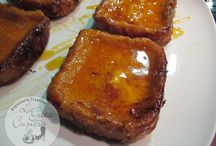Torrijas de flan royal