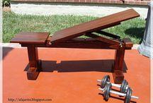 Esportes & Madeira / Aparelhos de madeira e ferro