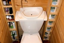Cottage toilet