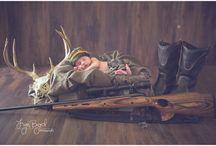 Newborn hunting theme