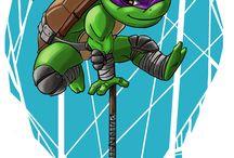 Ninja turtle! / Черепашки ниндзя!