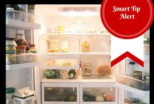 Smart Refrigerator Organization / Tricks you may not have considered to keep a science experiment-free, organized refrigerator.