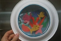 Kid crafts / by Charell Parcher