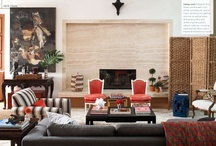 Interior Spaces-Living Rooms / by Alyssa Boland